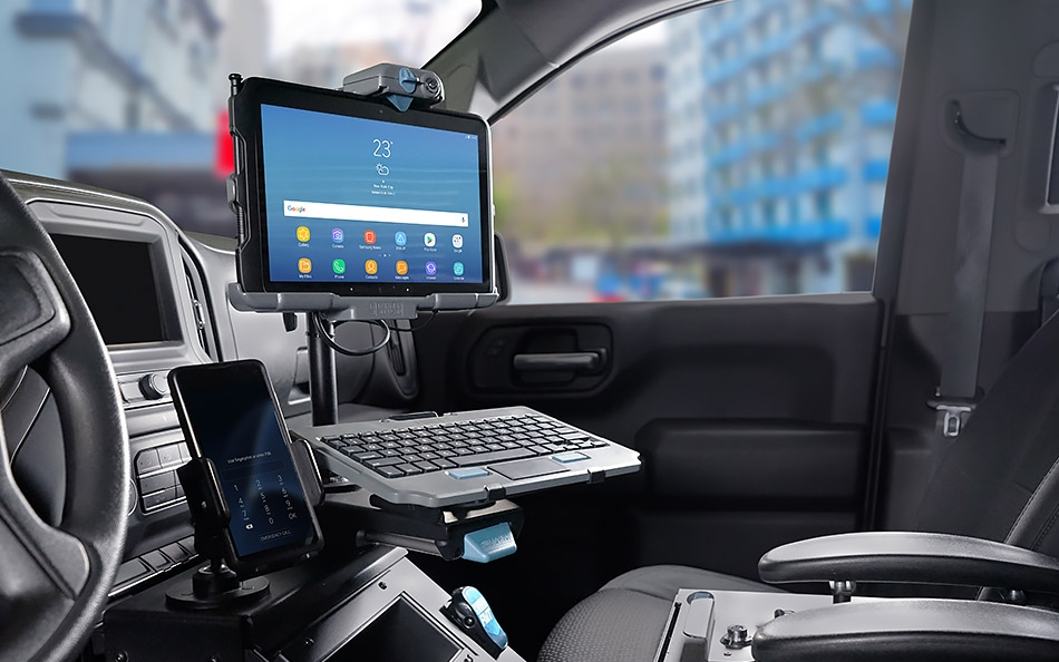 Samsung Tab Active Pro Vehicle Mounted